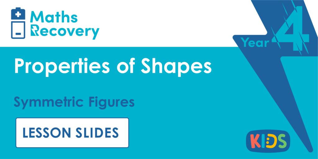 Year 4 Symmetric Figures Lesson Slides