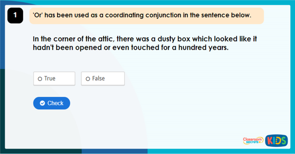 Year 4 Expanding Sentences using Conjunctions