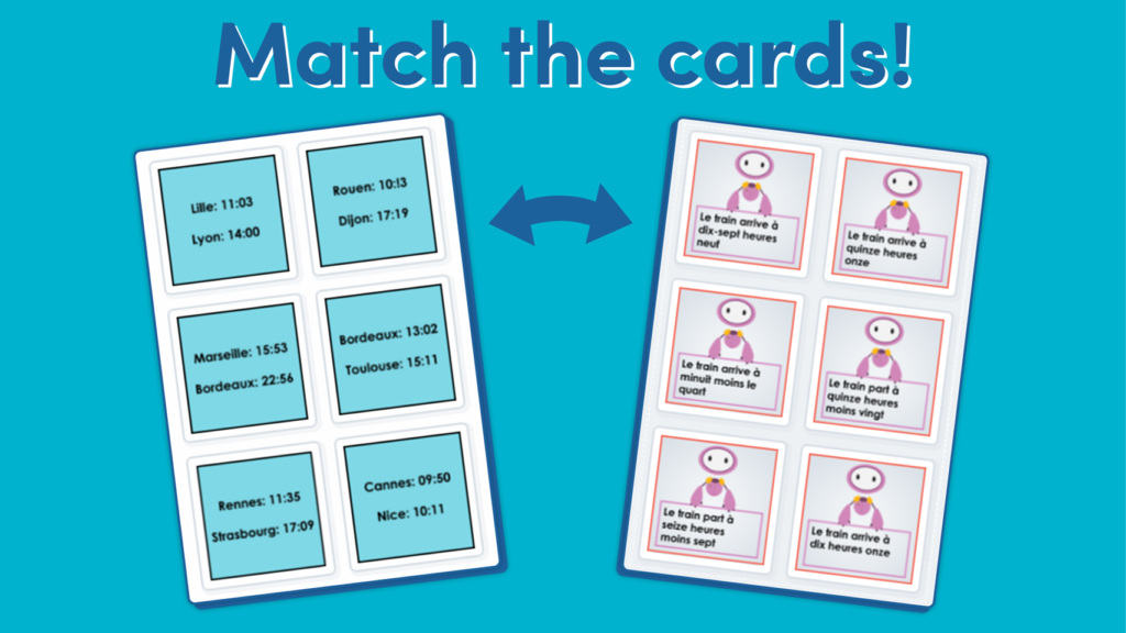 Year 6 Dates and Times Matching Activity